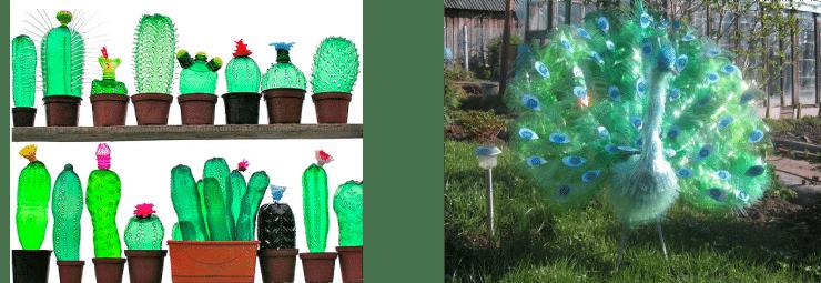 botellas plastico esculturas