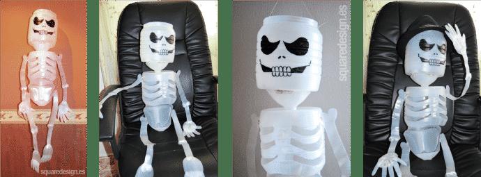 esqueleto diy