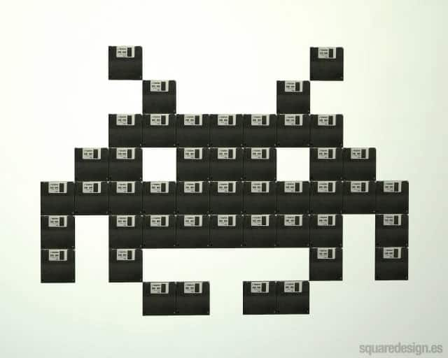 Space-Invaders-diskette
