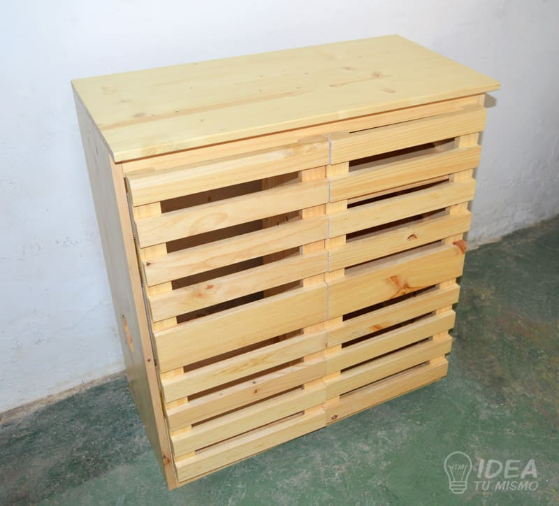 Mueble de madera idea tu mismo - Restaurar muebles de madera barnizados ...