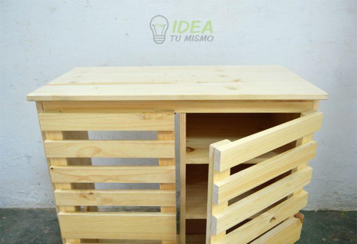 Mueble de madera idea tu mismo for Proyecto de muebles de madera