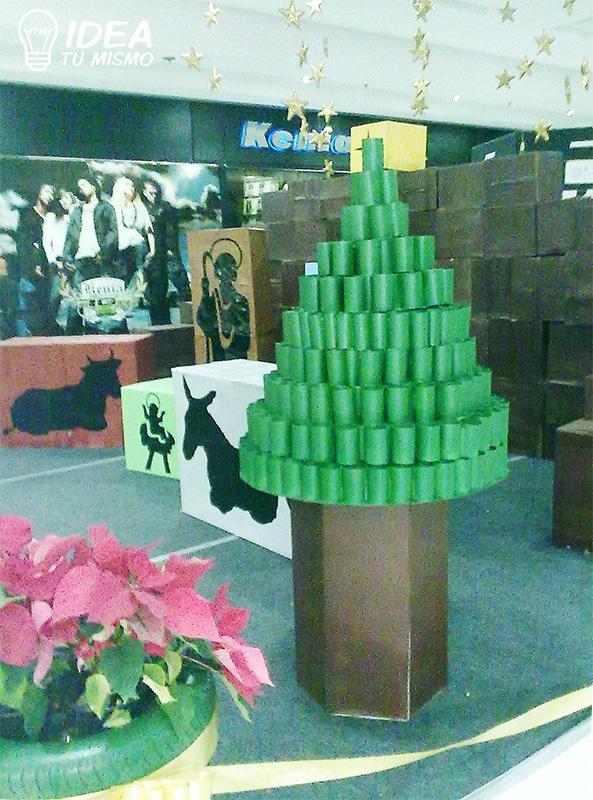 Decoracion-navidad-reciclada