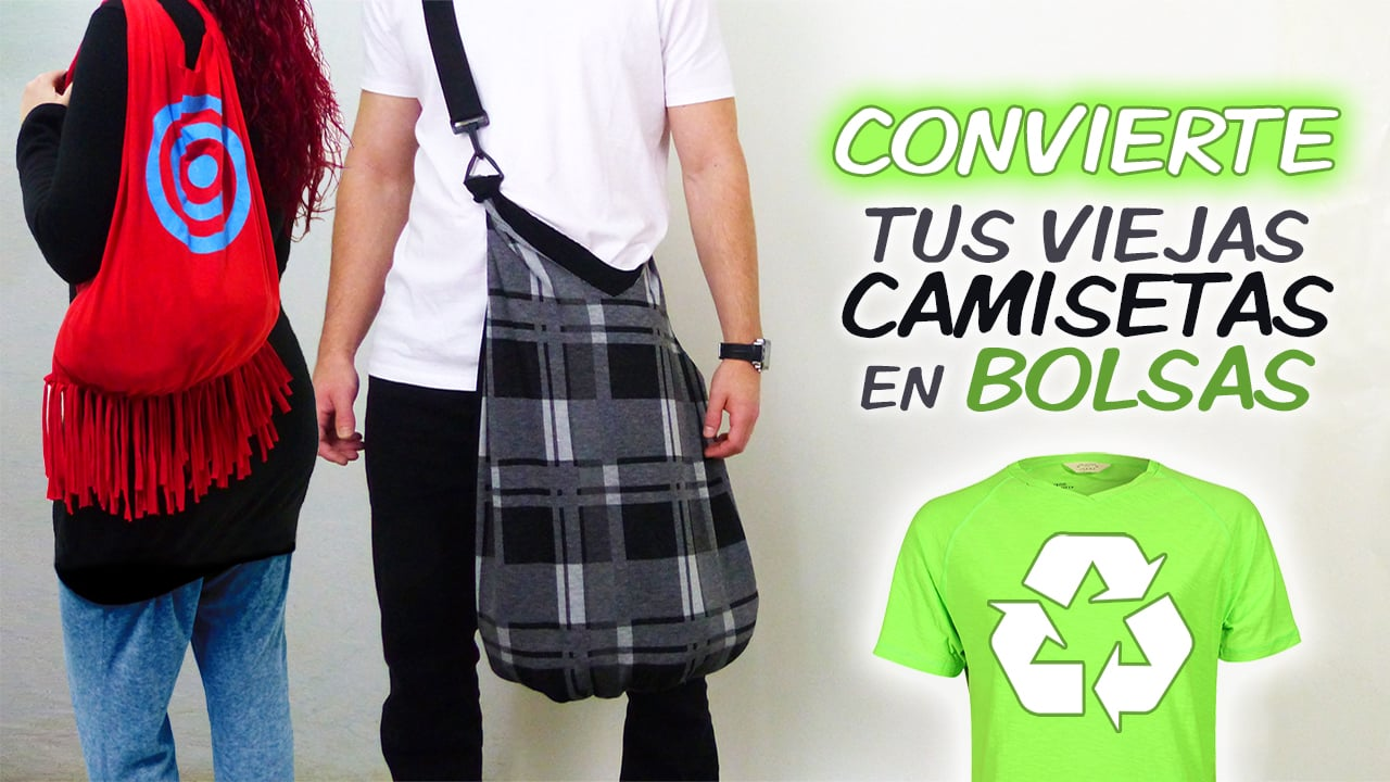 Camisetas-bolsas