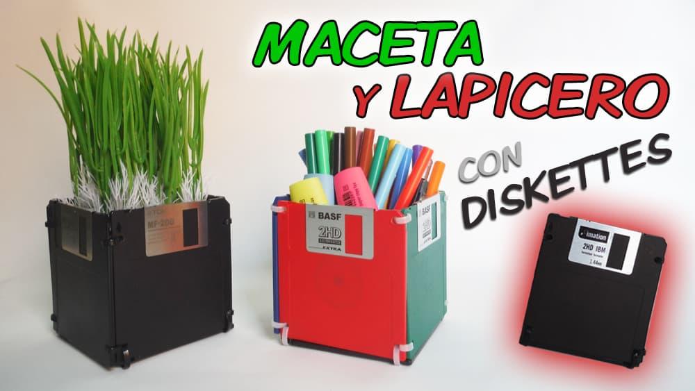 maceta-lapicero-diskettes