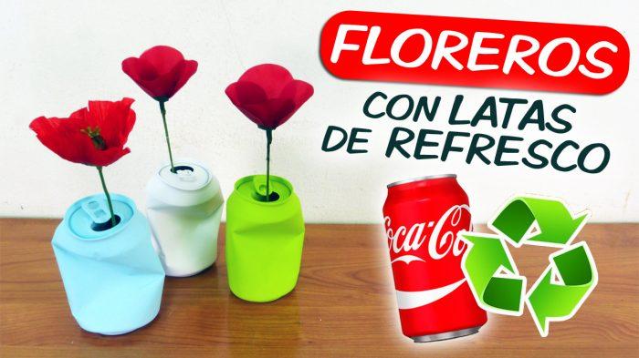 Latas-florero