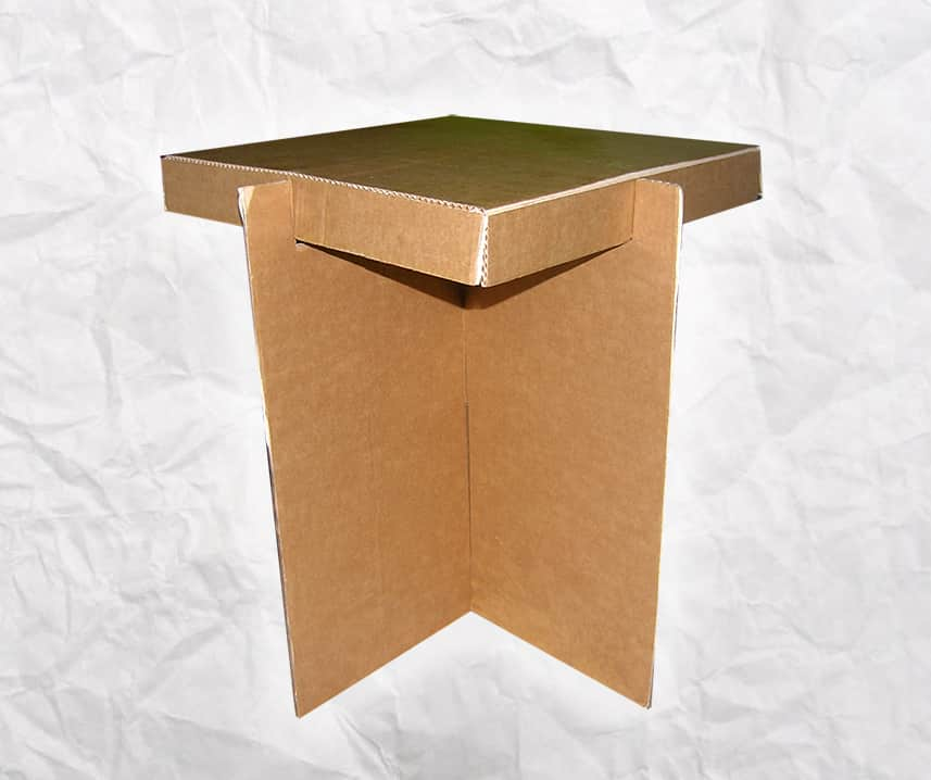 Taburete-carton