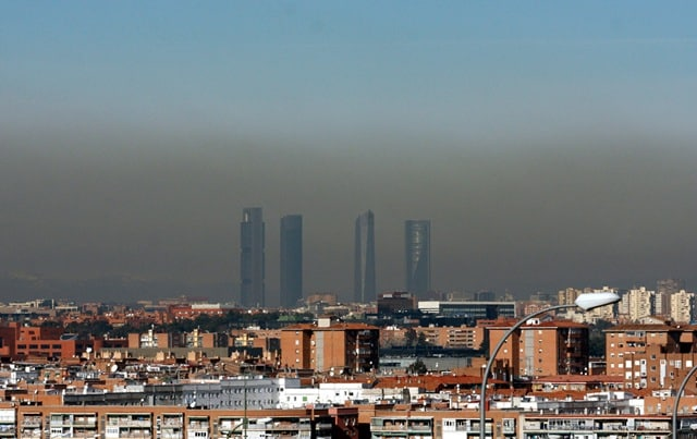 Contaminación-Madrid