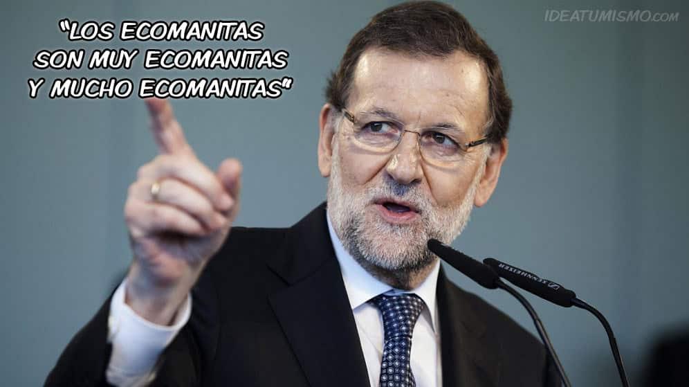 Rajoy-ecomanitas